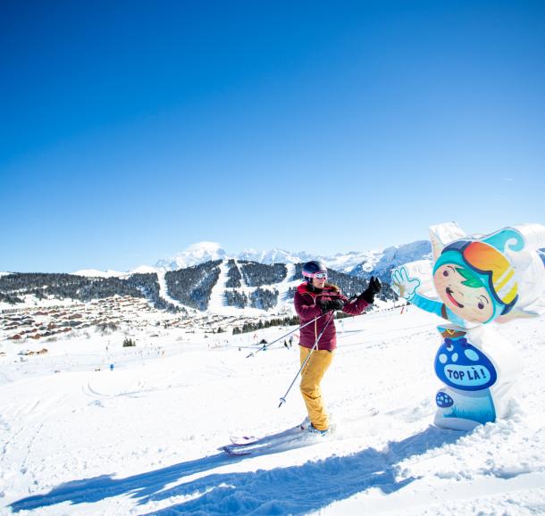A la rencontre de Snoot l'elfe skieur