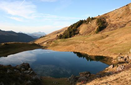 Lac des fées - Croix du Berger
