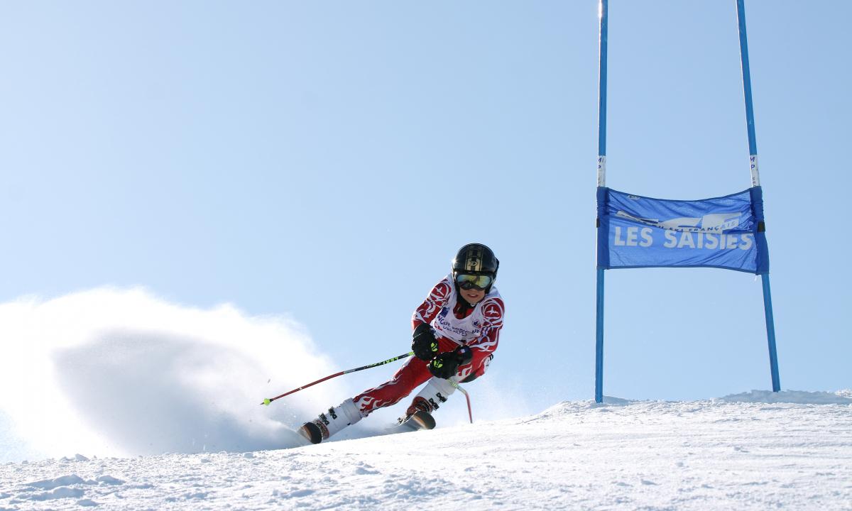 La flèche, slalom géant avec l'ESF