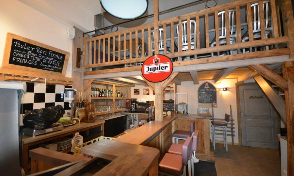 Salle restaurant bar, Bistrot des Alpages