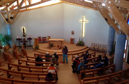 Les Saisies : chapelle Notre-Dame de Haute Lumière