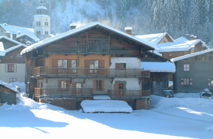 chalet Viallet Bouyou hiver