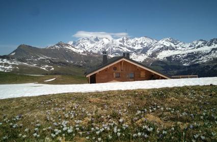 Restaurant d'alpage sur les Hauteurs d'Hauteluce