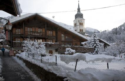chalet hiver