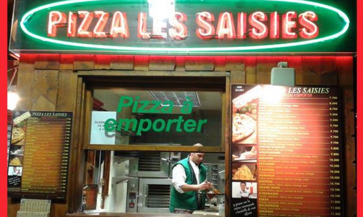 Large choix de pizzas à emporter