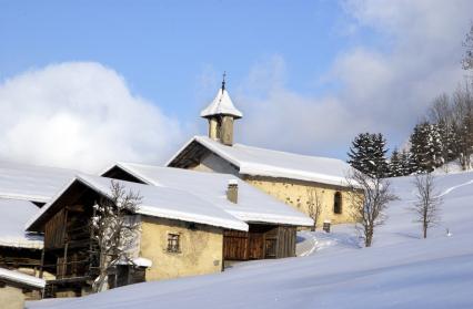 Chapelle du hameau de Saint Sauveur