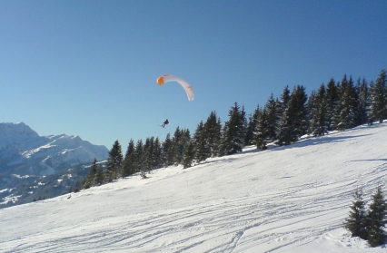 Slalom, balises, touch and go, parapente