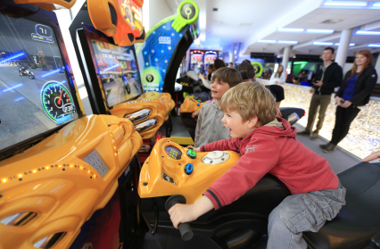 Jeux vidéos arcades...