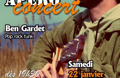 Apéro concert Ben Gardet