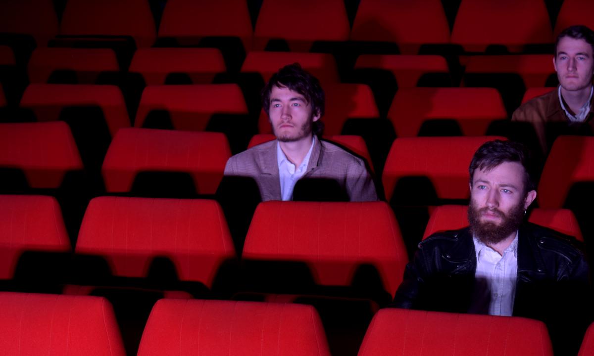photo du groupe brake the clock au cinema