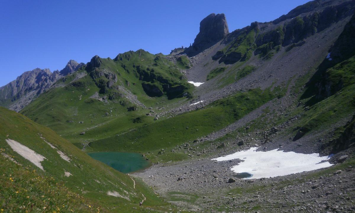 Pierra menta Lac d'Amour