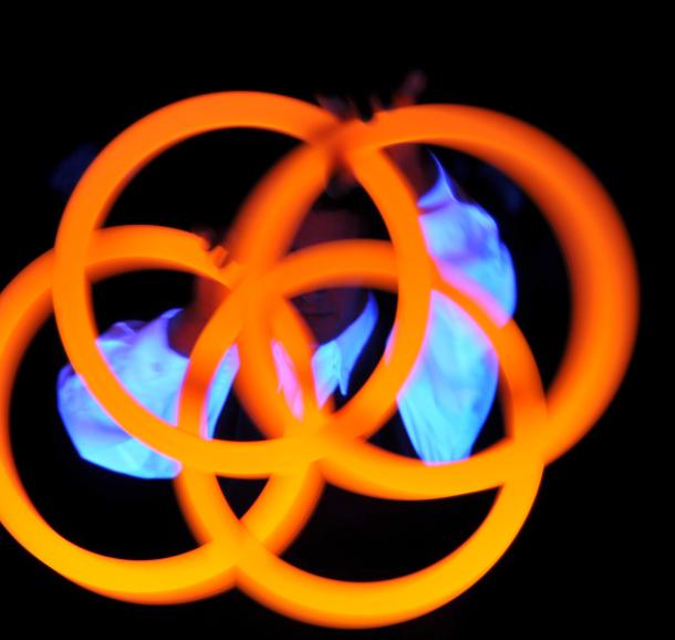 spectacle les fééries pyromaniés