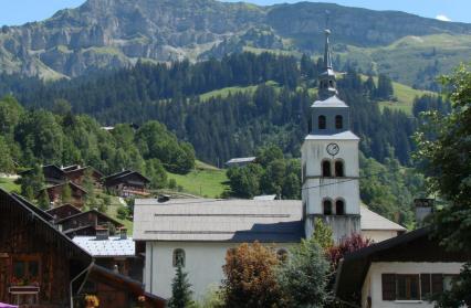Arêches et son Eglise