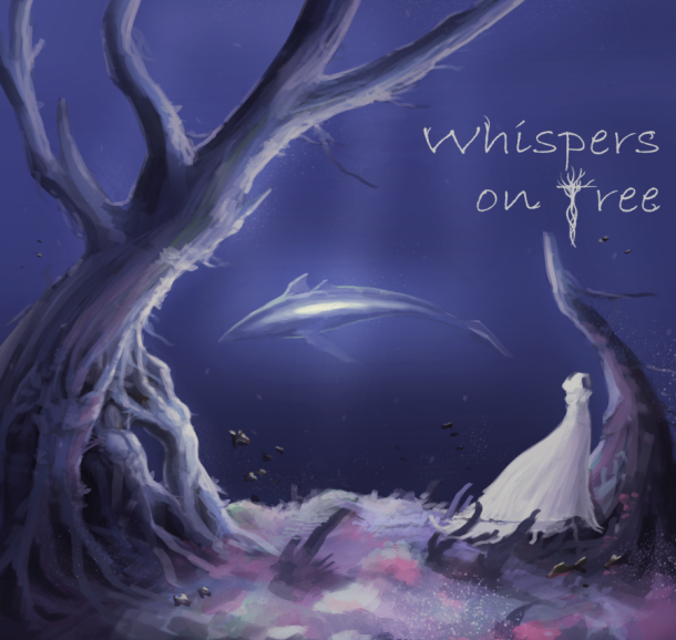 whispers on tree