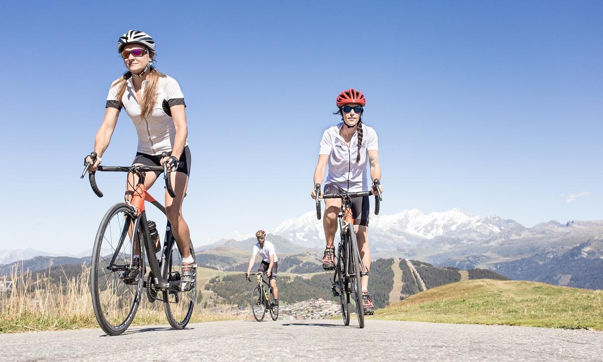 cyclisme les Saisies