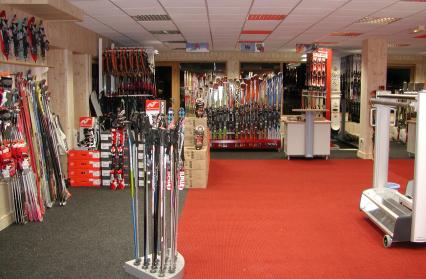Espace vente magasin Piccard Sports (Hameau du Beaufortain)