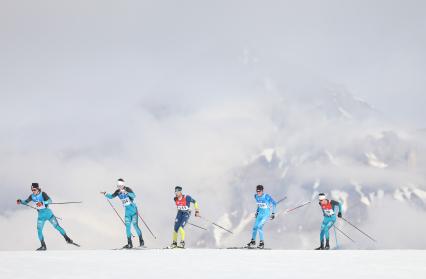 Cours de ski de fond longue distance