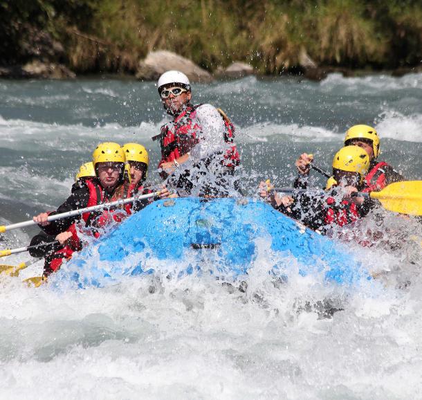 Rafting sur l'Isère avec Franceraft