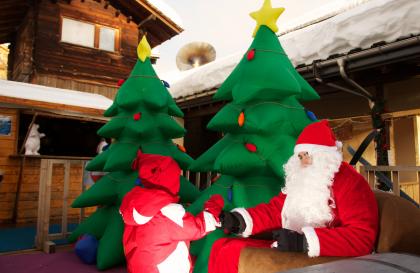 Un Noël féérique aux Saisies