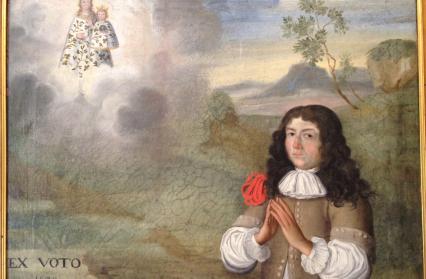 Chapelle Notre-Dame-de-la-Vie : ex-voto du 17ème s.
