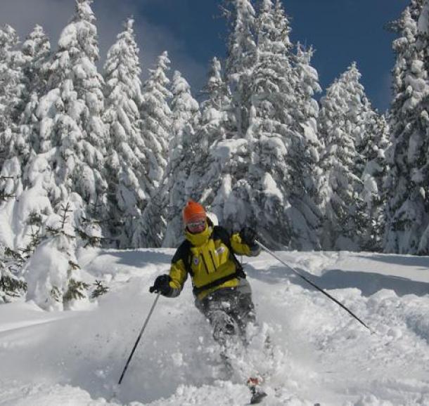 Ski hors piste avec Guy Bertin