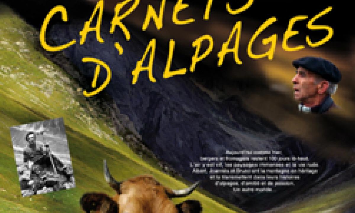 Affiche film Les carnets d'alpages