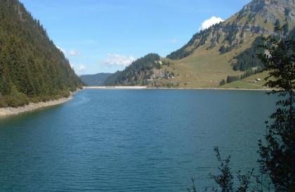Lac et Barrage de St Guérin