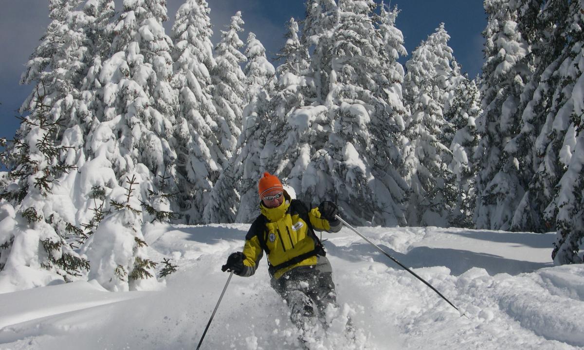Guy Bertin guide de Haute montagne et moniteur indépendant aux Saisies
