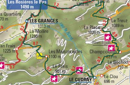 Plan - Les Granges