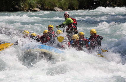 L'intégrale de l'Isère, 22 km de descente en rafting