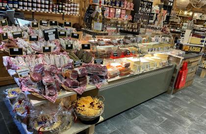 Fromages et produits locaux