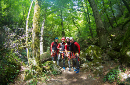 Montmin_Canyoning
