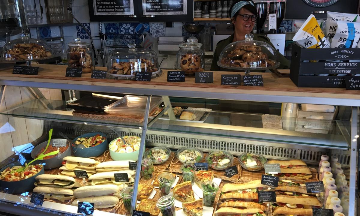 La Bocca sandwich shop aux Saisies