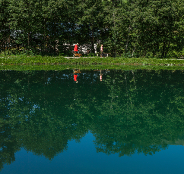 Lac de l'infernet à Hauteluce