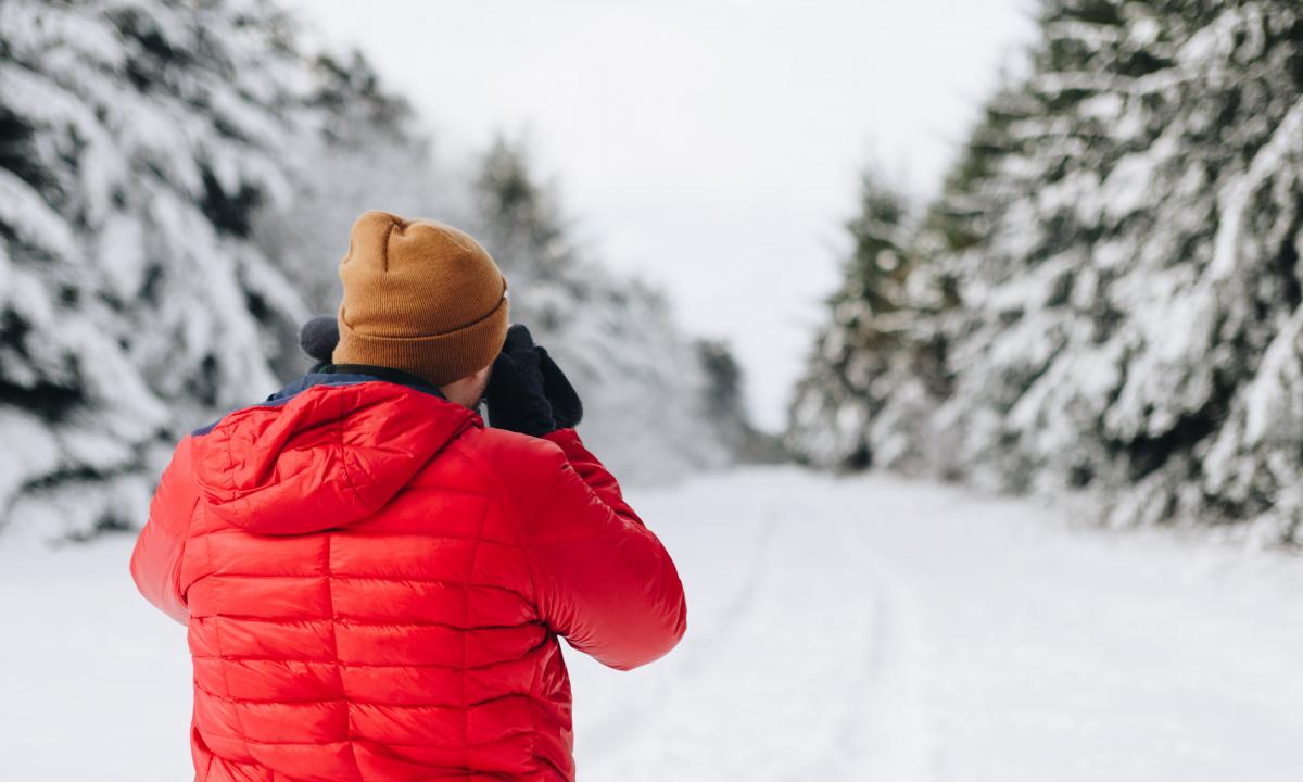 photographe hiver