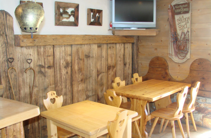 Salle du restaurant Le Dava