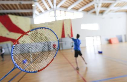 Tournoi amical de badminton
